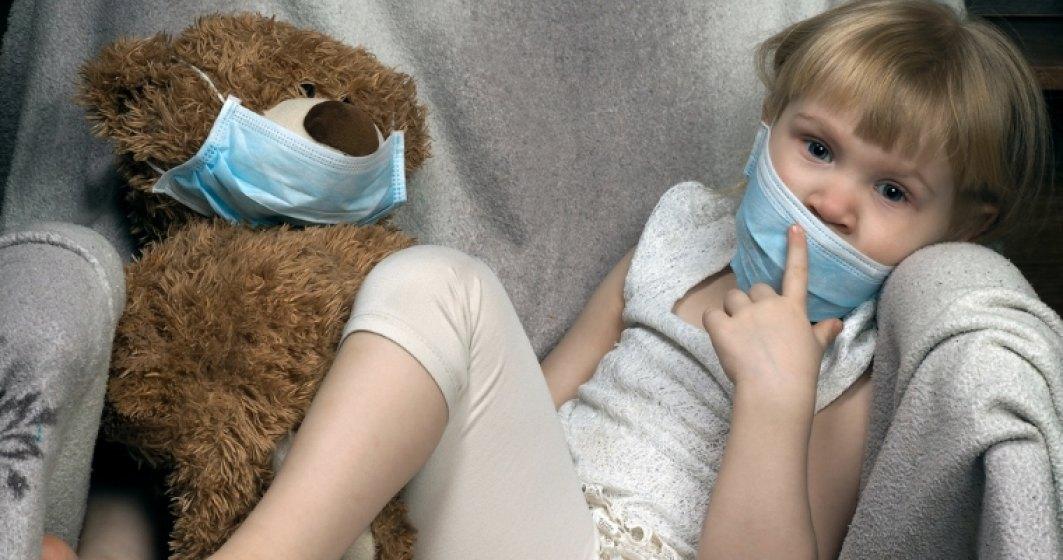 Epidemie de rujeola: Trei copii sub un an au murit si la alti 675 din 23 de judete a fost confirmata boala