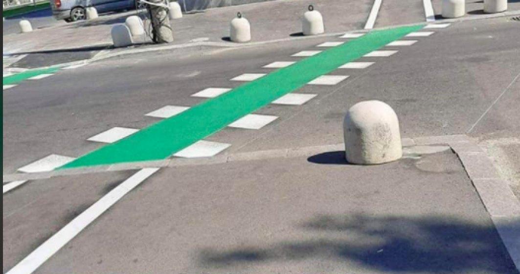 Poliția Rutieră a cerut închiderea pistei de biciclete de pe Șoseaua Giurgiului