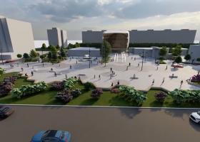 VIDEO | Piațeta Favorit din Sectorul 6 prinde contur: cum arată proiectul...