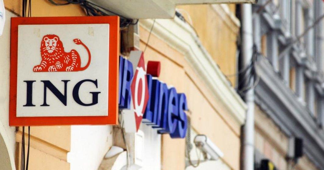 ING Bank Romania aproape isi dubleaza profitul la semestru dupa castigul de 100 milioane lei din vanzarea actiunilor Visa
