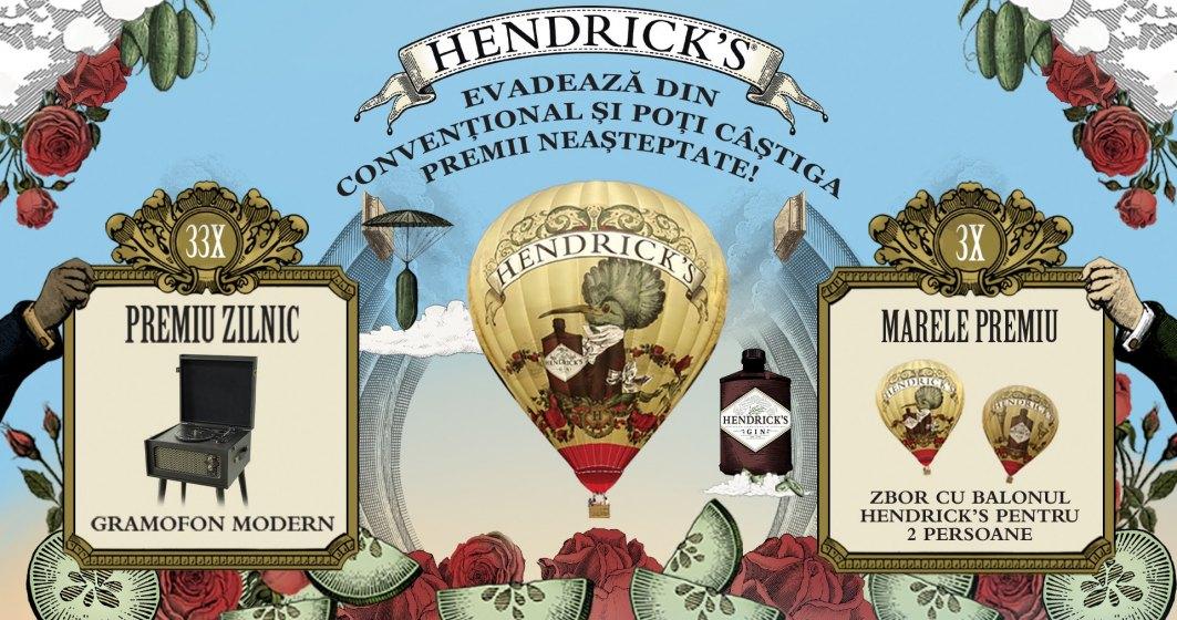 (P) Alexandrion Group anunță o campanie cu premii inedite, dedicată celor care iubesc Hendrick's Gin