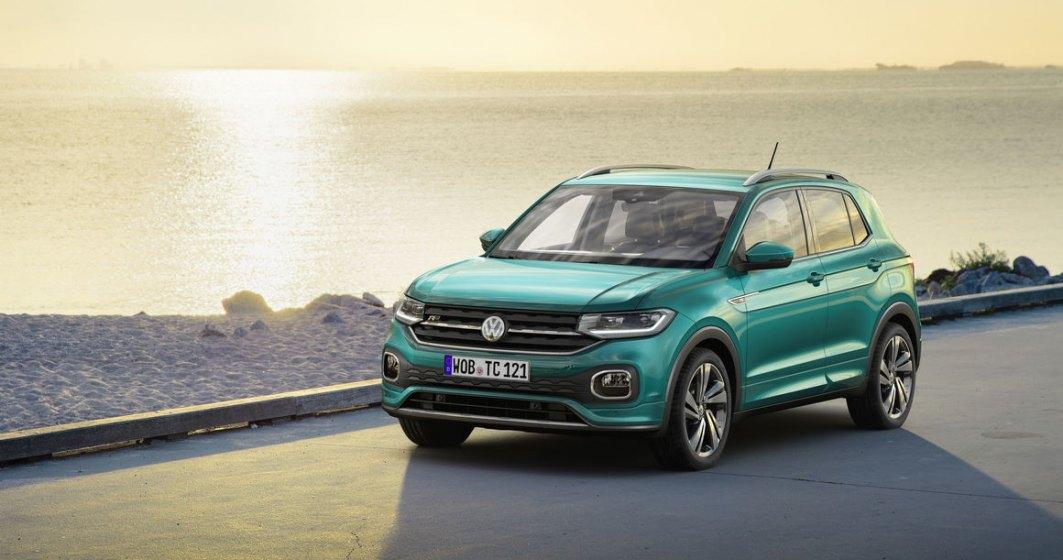 Volkswagen T-Cross costa de la 16.370 euro. Primele unitati vor fi livrate in aprilie