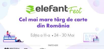 (P) elefantFest, cel mai mare târg de carte, așteaptă cel puțin 1,5 milioane...