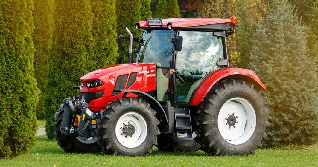 """Acesta este primul tractor """"Made in Romania"""". Începe promovarea peste hotare"""