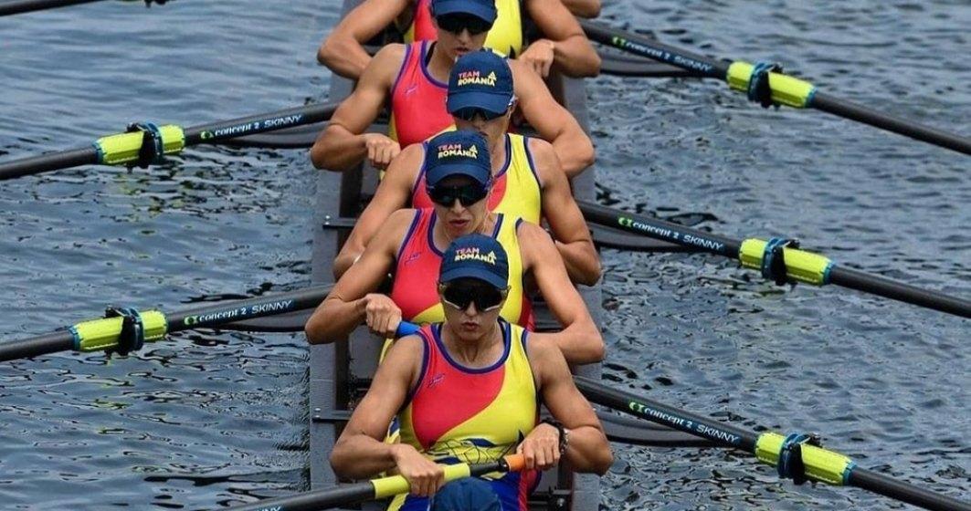 Canotaj: România, pe locul şase în finala probei de opt plus unu feminin