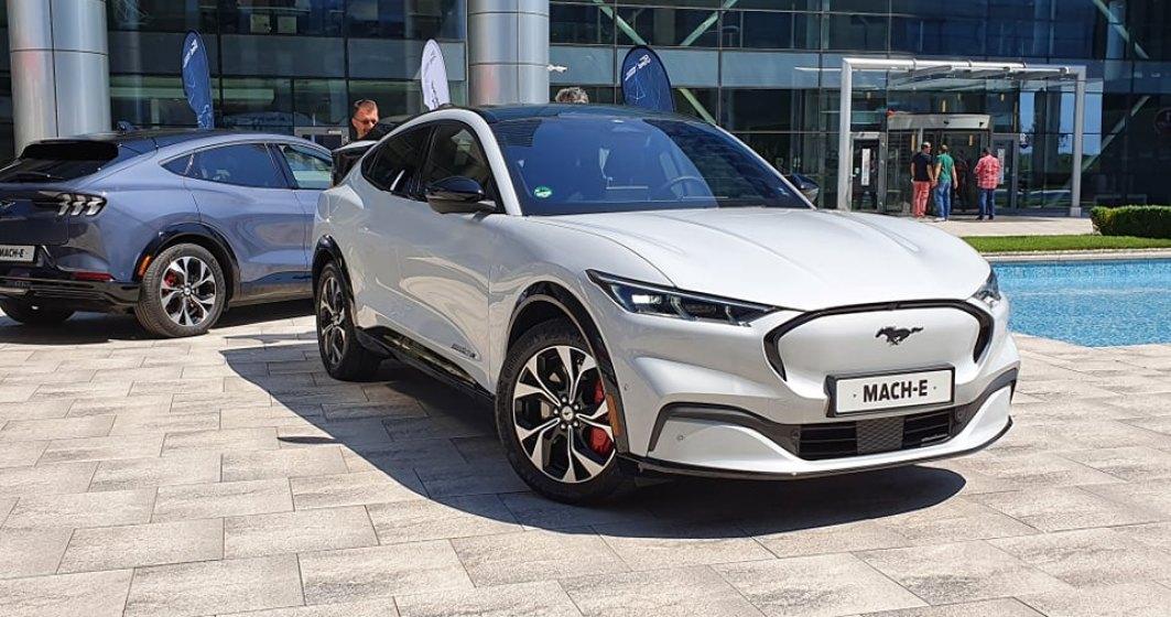 Ford a prezentat SUV-ul electric Mach-E în România. Primele livrări vor fi făcute în septembrie