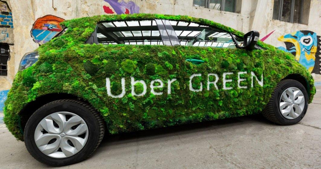 Uber introduce vehicule hibrid în serviciul Uber Green