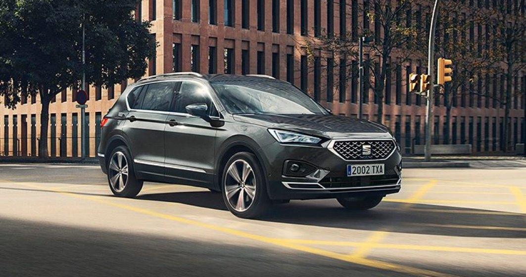 Seat lanseaza in Romania SUV-ul de talie medie Tarraco. Modelul costa de la 26.700 euro si poate fi configurat cu 7 locuri