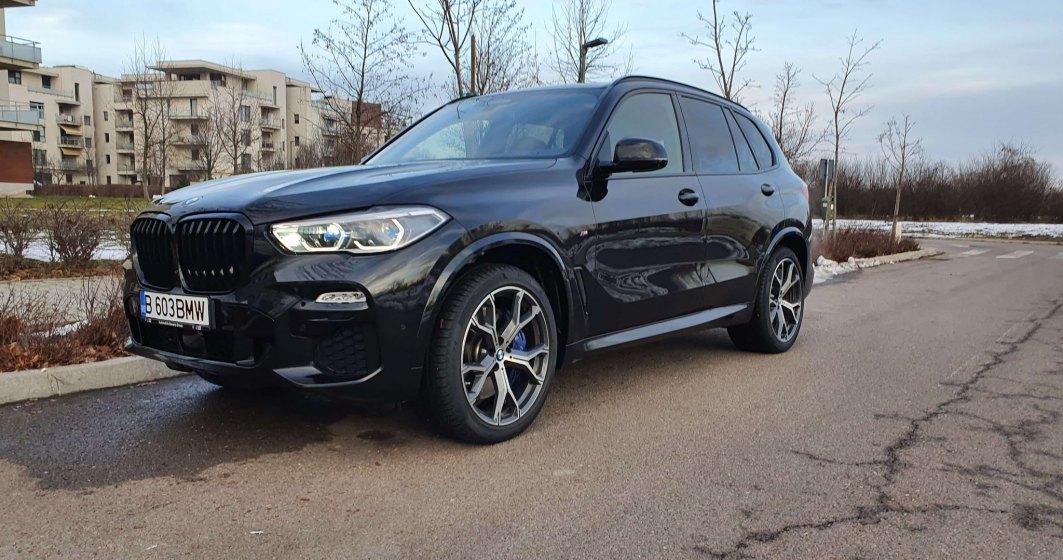 """Test drive cu BMW X5 M50d """"Final Edition"""", rămas bun de la motorul diesel cu 4 turbine și 400 CP"""