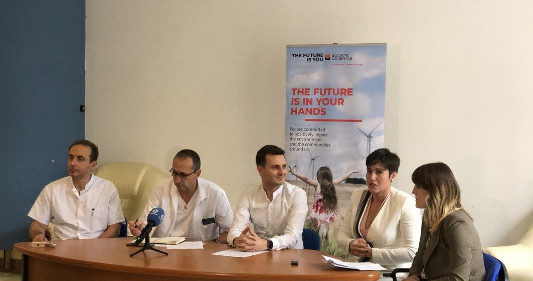 Societe Generale EBS si Passe-Par-Nous contribuie la prima sectie de boli infectioase din cadrul spitalului Elias