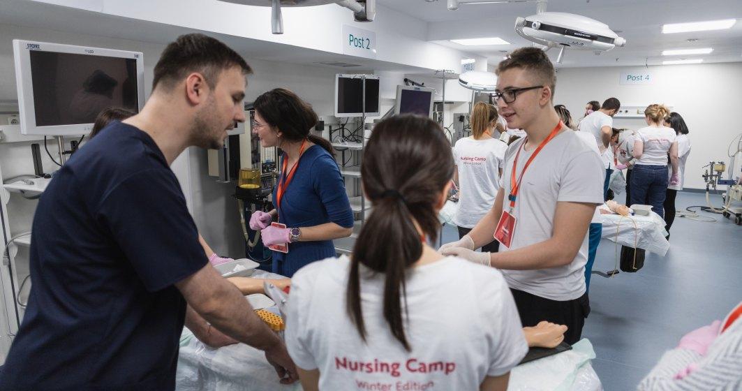 Regina Maria investeste 2 milioane de euro intr-un program academic dedicat asistentilor medicali. Cum devii student?