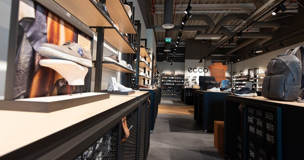 Brandul de încălțăminte ECCO deschide un nou magazin