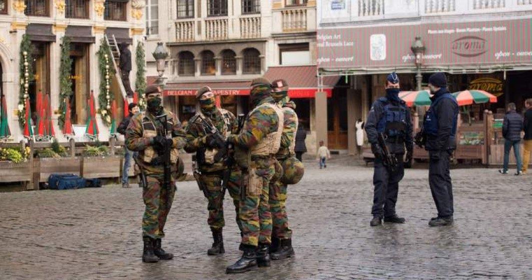 Descinderi antitero, la Bruxelles. Trei persoane au fost arestate
