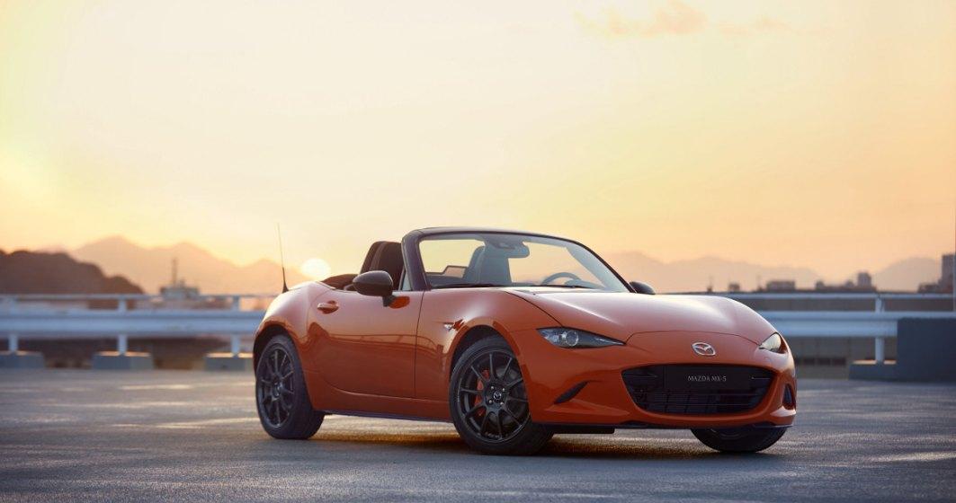 Mazda aduce pe piata o editie limitata MX-5 in nuanta Racing Orange