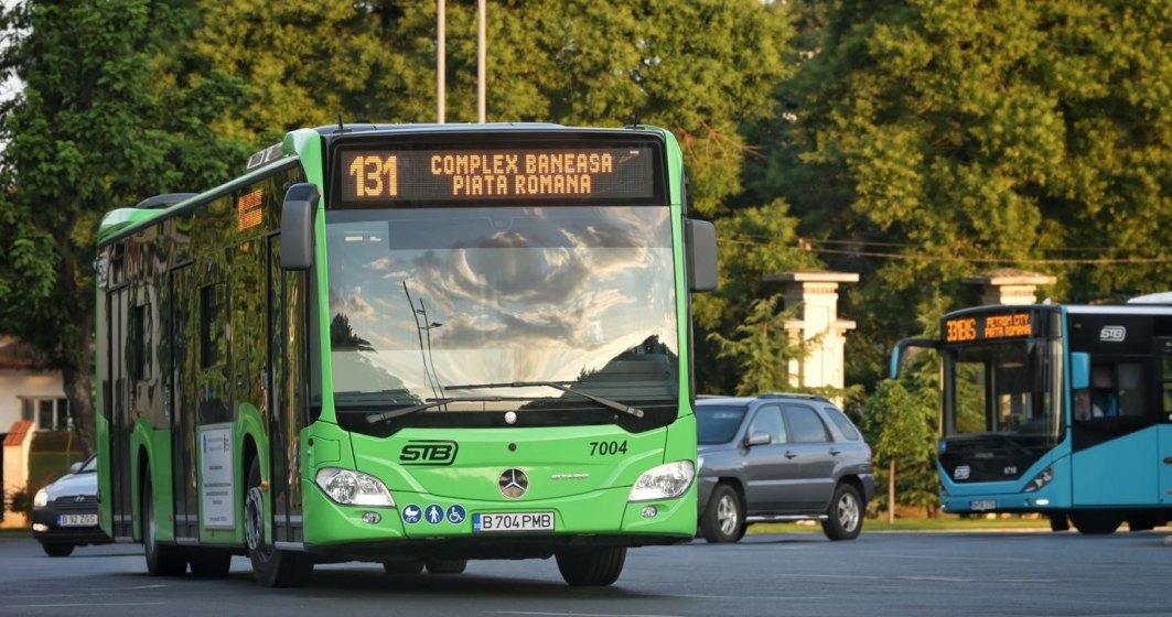 Primul lot de autobuze hybrid Mercedes Citaro a intrat pe traseu, în București