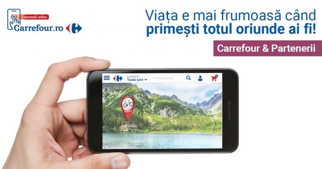 (P) Carrefour Romania lanseaza portalul unic carrefour.ro: magazin online, marketplace, marci proprii - TEX, oportunitati de cariera si initiative corporate