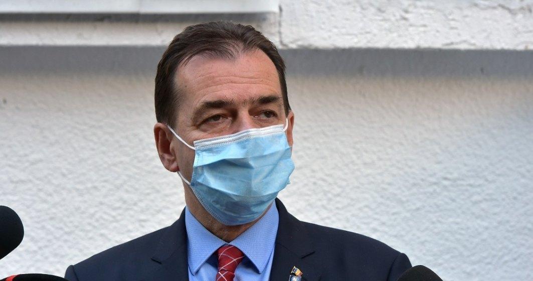 Ludovic Orban: Obiectivul nostru e să reducem numărul de infectări zilnice