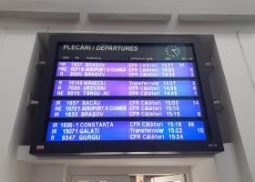 Trenul de la mare, blocat din nou: zeci de copii plecați din Mangalia încă nu...