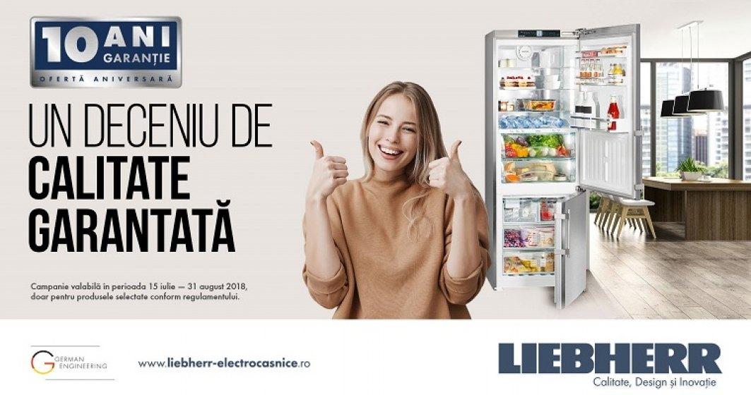 (P) Liebherr - brandul german de electrocasnice premium sarbatoreste 10 ani de prezenta pe piata din Romania
