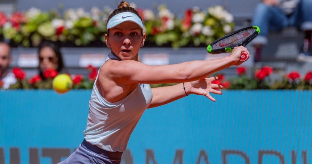Simona Halep, eliminată de la Madrid de Elise Mertens