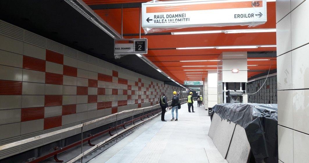 Astăzi se deschide metroul din Drumul Taberei, care trebuia să fie gata în 2015