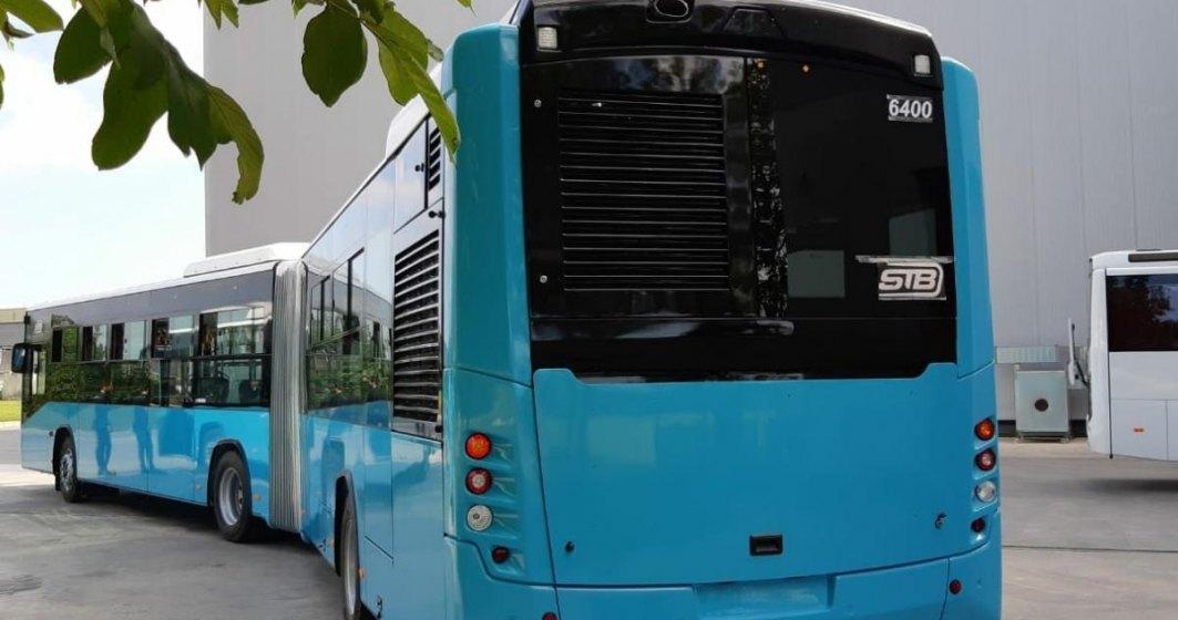 FOTO Primele autobuze Otokar pentru STB au ajuns in Bucuresti