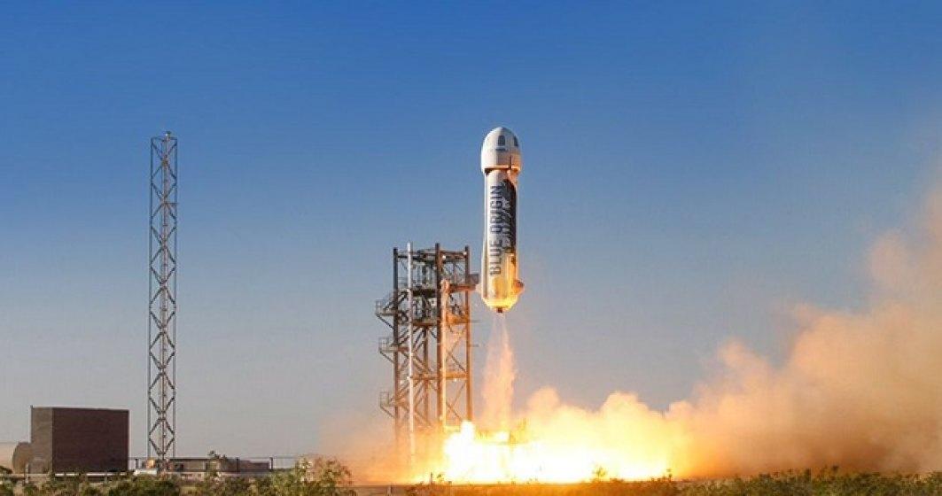 Acum poți face o plimbare în racheta lui Jeff Bezos: cât costă un bilet în spațiu