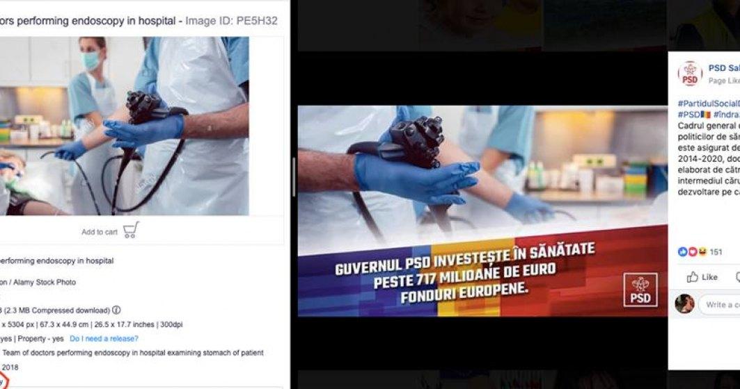 Cum minte PSD in reclamele sponsorizate de pe Facebook