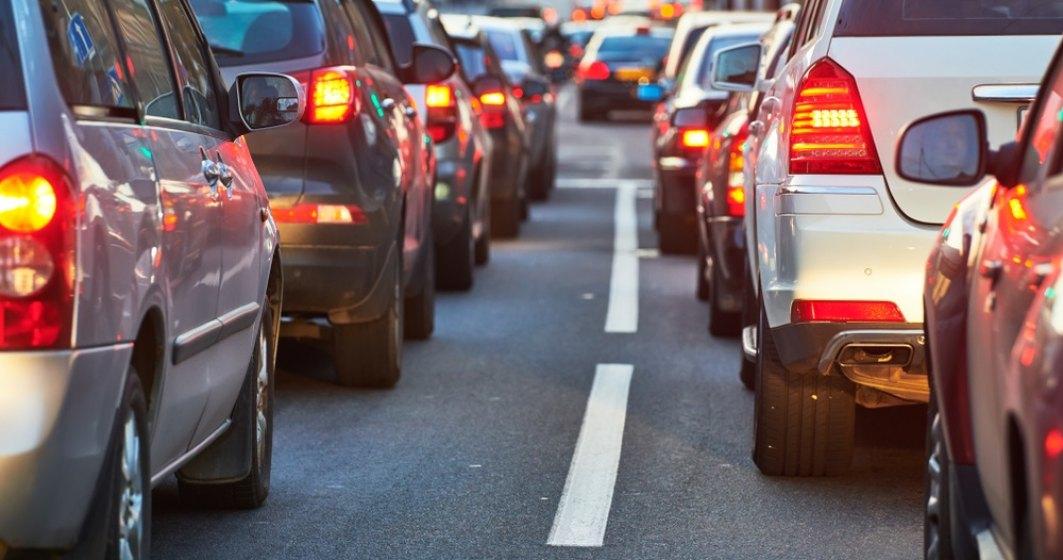 Accident în lanț pe Autostrada Soarelui. Circulația este blocată