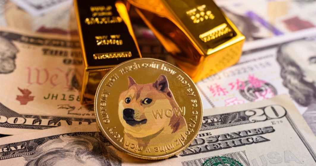 Dogecoin, criptomoneda pornită ca o glumă, este acum a treia cea mai tranacționată din lume