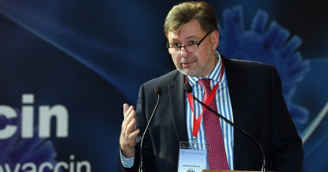 Alexandru Rafila are COVID: S-a confirmat infecţia şi în cazul meu; mă simt bine