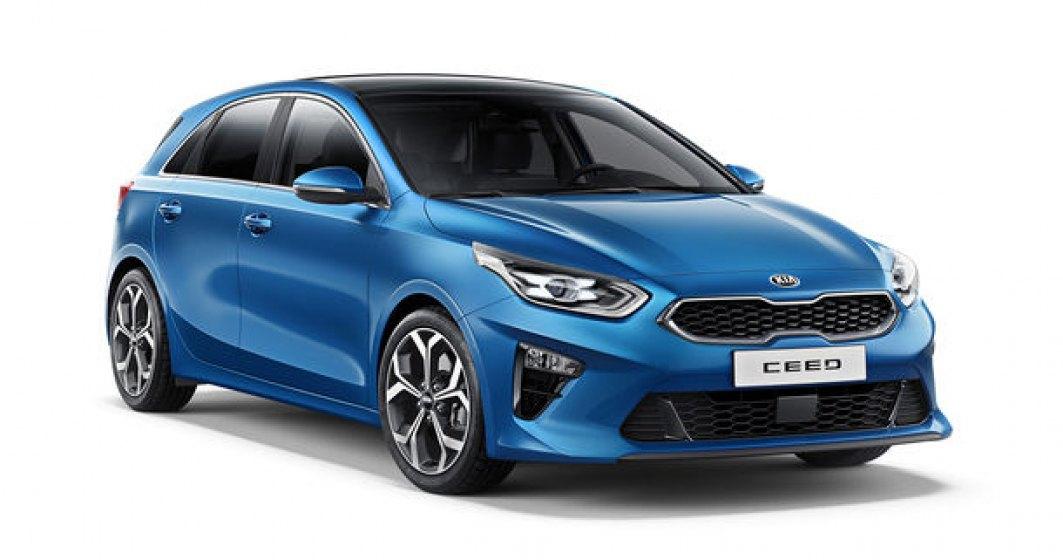 Noua generatie Kia Ceed, disponibila in Romania: start de la 15.400 de euro. Promotie de lansare de la 13.800 de euro