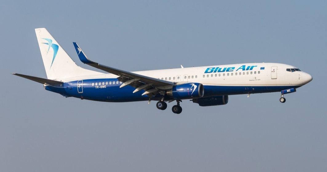 Blue Air introduce noi zboruri din România, de sărbători