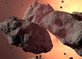 O nouă descoperire în spațiu: roci roşiatice uriaşe, identificate de oamenii...