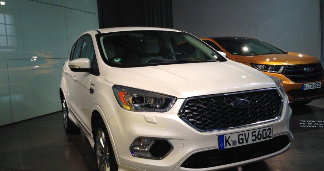 Ford Kuga facelift ajunge in Romania in noiembrie. Poate fi comandat Vignale
