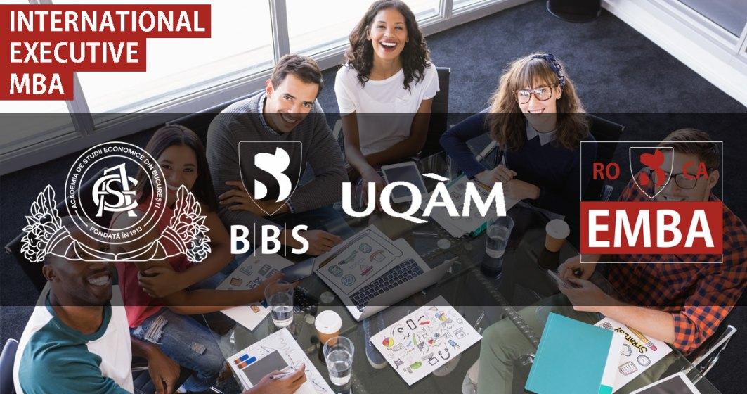 (P) Bucharest Business School a început înscrierea la programele MBA și Executive MBA și împreună cu Fundația Autonom sprijină viitorii cursanți cu discounturi și burse de peste 35000 Euro.