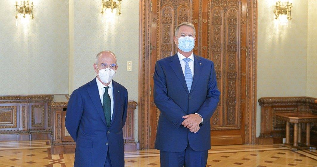 Klaus Iohannis s-a întâlnit cu șeful Enel. Președintele cere măsuri pentru protejarea consumatorilor vulnerabili