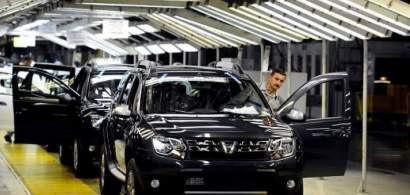 Uzina Dacia produce 1.313 vehicule pe zi, producție adaptată permanent la...