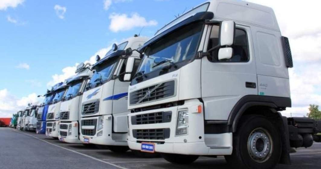 Un nou protest al transportatorilor rutieri va avea loc în Piața Victoriei din București