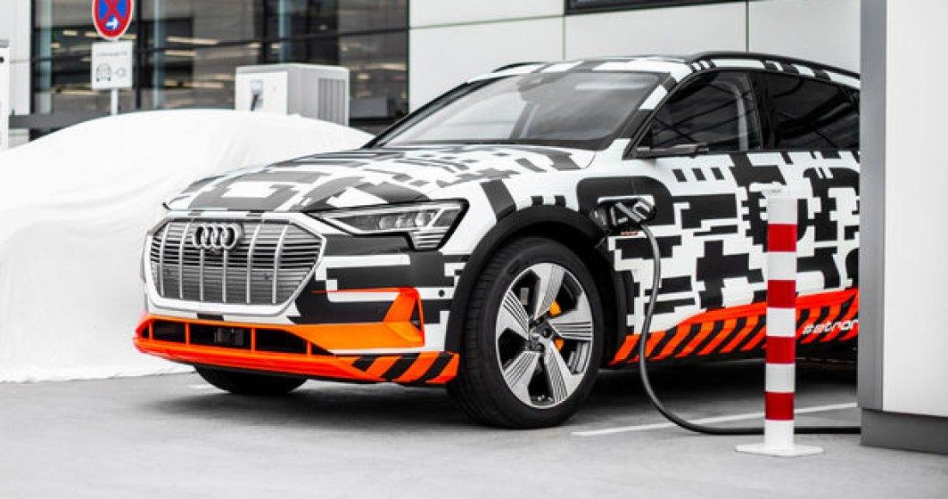 Audi lanseaza serviciul e-tron Charging Service: incarci masina electrica sau plug-in hybrid in Europa cu un singur card sau aplicatie