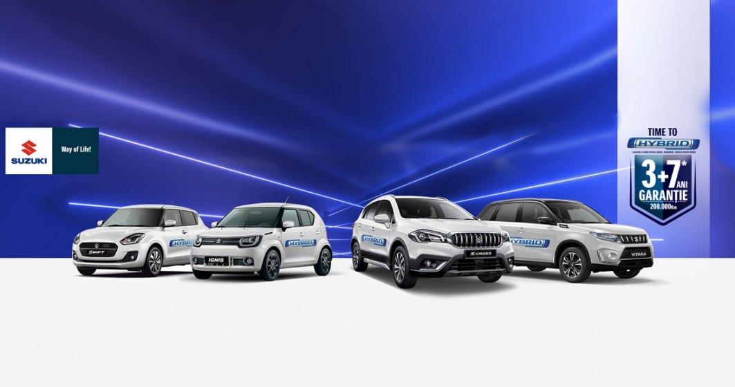 (P) Suzuki isi extinde gama de modele hibrid si devine primul producator care comercializeaza doar modele hibrid 12V si 48V. Time to Hybrid!