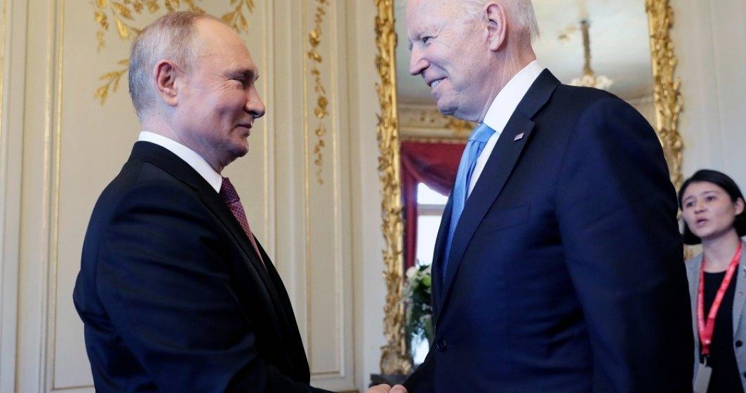 Biden, apel către Putin. Îi cere președintelui oprească atacurile cibernetice care provin din Rusia