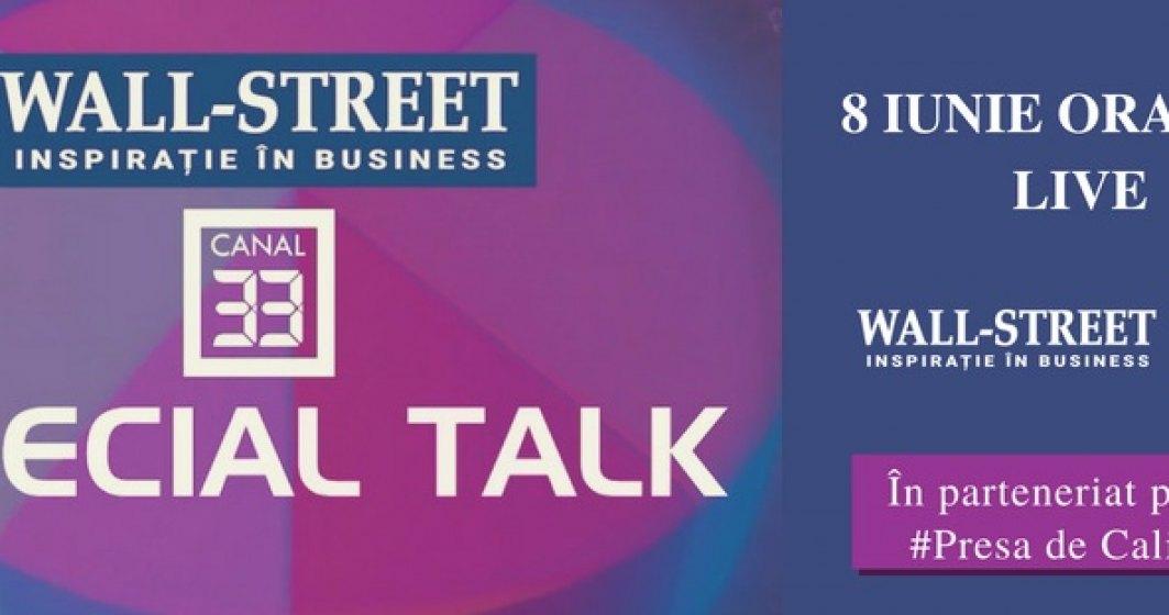 Parteneriat intre wall-street.ro si Canal 33: emisiunea saptamanala Special Talk