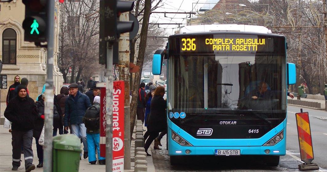 COVID-19   Societatea de Transport București (STB) va funcționa la capacitate maximă începând cu 18 mai, iar accesul în autobuze va fi limitat