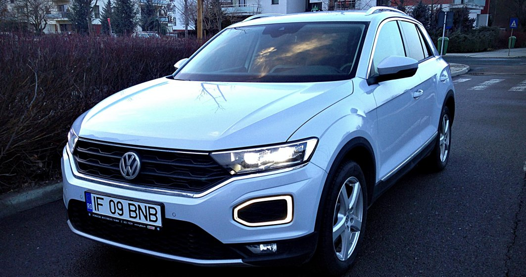 Test Drive cu Volkswagen T-Roc, un SUV de oras puternic personalizabil