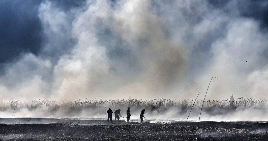Ce se întâmplă cu norul de fum din zona Periș: explicația Administratiei Nationale de Meteorologie