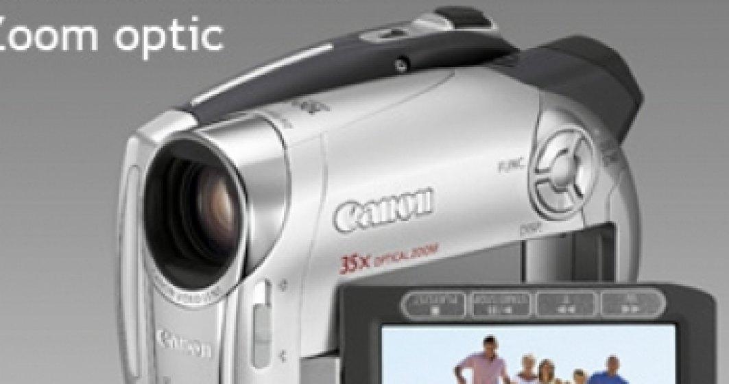 Noile camere video Canon DVD