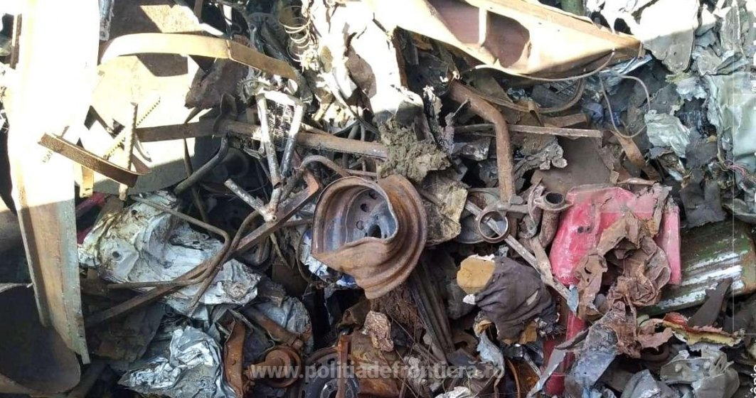 FOTO | Peste 530 de tone deșeuri oprite la frontiera Calafat Portuar