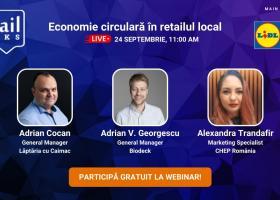 retailTalks: Economie circulară în retailul local. Înscrie-te gratuit la...