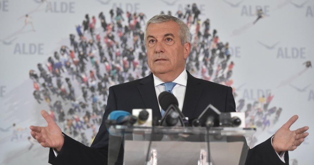Calin Popescu Tariceanu, presat de partid si de Victor Ponta sa scoata ALDE de la guvernare